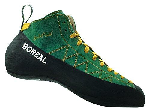 CALZADOS BOREAL Boreal Unisex Ballet Gold-Multifunktionsschuhe, Mehrfarbig (Verde), 38 EU (5 UK)
