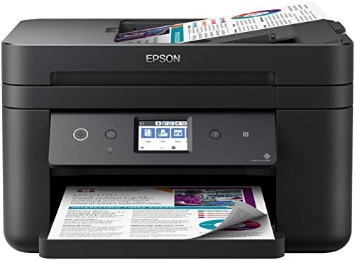 Epson WorkForce WF-2860DWF All-in-One Wireless Colour Printer with Scanner,...