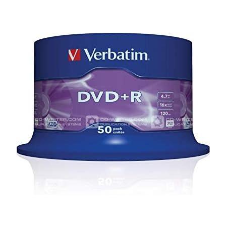 Verbatim Dvd R 16x Matt Silver 4 7gb I 50er Pack Computer Zubehör