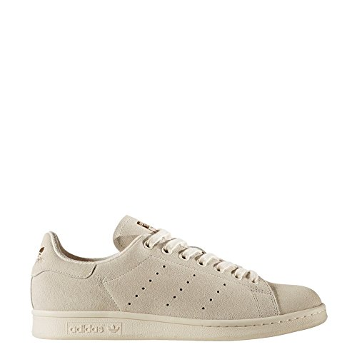 adidas Womens Stan Smith Off White Suede Trainers 38 2/3 EU