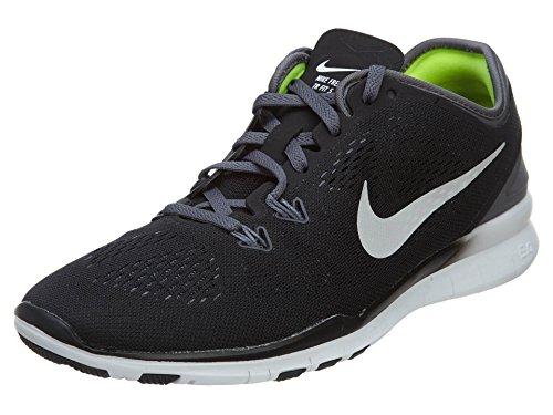 Nike Damen WMNS Free 5.0 TR FIT 5 Hallenschuhe, Schwarz (Black/Dark Grey/White 004), 38.5