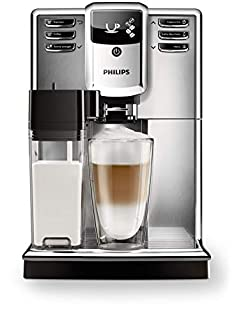 Philips Serie 5000 EP5365/10 Macchina Automatica da caffè, con Macine in Ceramica, Filtro AquaClean, Caraffa Latte Integrata, Acciaio Inossidabile, Argento (B0772MJ2D6) | Amazon price tracker / tracking, Amazon price history charts, Amazon price watches, Amazon price drop alerts