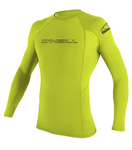 O'Neill Wetsuits Herren Uv Schutz basic skins L/S crew Lime, L