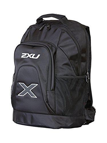 2XU Unisex Distance Rucksack, Schwarz/Schwarz, One Size