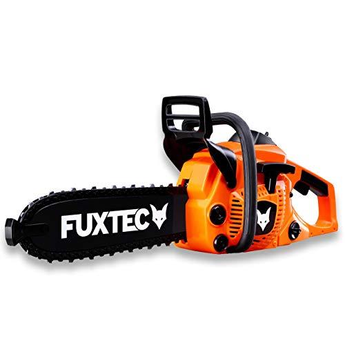 Fuxtec Kinder Spielzeug Kettensäge FX-SKS1 echter Sound + rotierende Sägekette