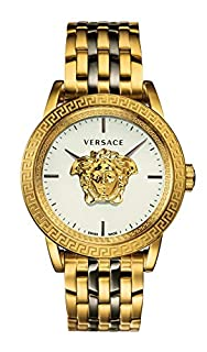 Versace Men's VERD00418 Palazzo Empire Swiss-Quartz Silver Watch (B07M5BPWQS) | Amazon price tracker / tracking, Amazon price history charts, Amazon price watches, Amazon price drop alerts
