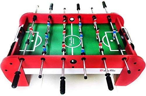 Codzienny sprzęt Heavy Duty Foosball Tabletop Games Arcade Table Games for Children for Quick Casual Game of Foosball with kids and friends (97 & times; 54 & times; 35cm)