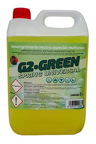Sgrassatore industriale neutro pulitore professionale per superfici ideale per la pulizia di piastrelle, pareti lavabili, pavimenti, tavoli, cucine prodotto biodegradabile eco gamma 5 litri