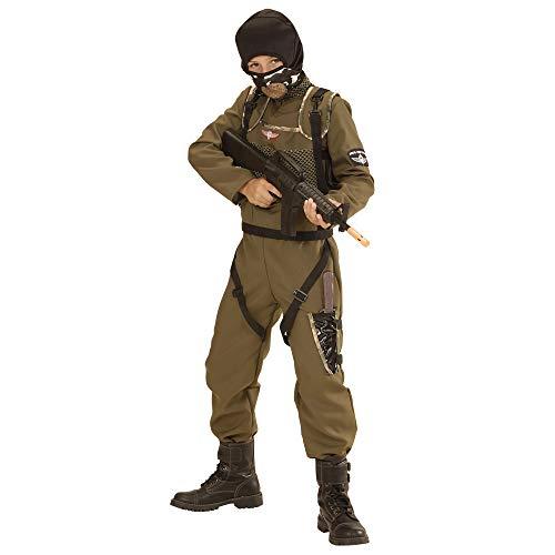 WIDMANN Disfraz de Paracaidista de Las Fuerzas Especiales para nio - 4-5 aos
