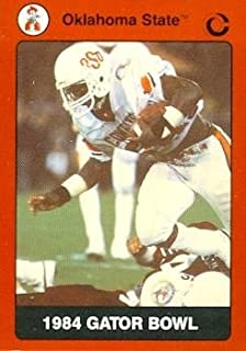1984 Gator Bowl Football Card (Oklahoma State) 1990 Collegiate Collection #42