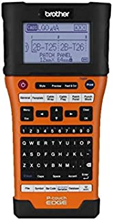 Brother P-Touch-E550W Hand-Held Labeler (UX0987),Black/orange