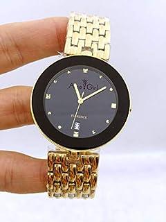 Delicate Rhinestone Full Stainless Steel Bracelet Women Watches Mens Womens Gold Quartz Silver White Black Hour Mens 36mm