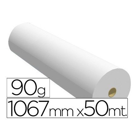 Navigator 1067X50 90 - Papel reprografía para plotter, 1067 mm x 50 m ✅