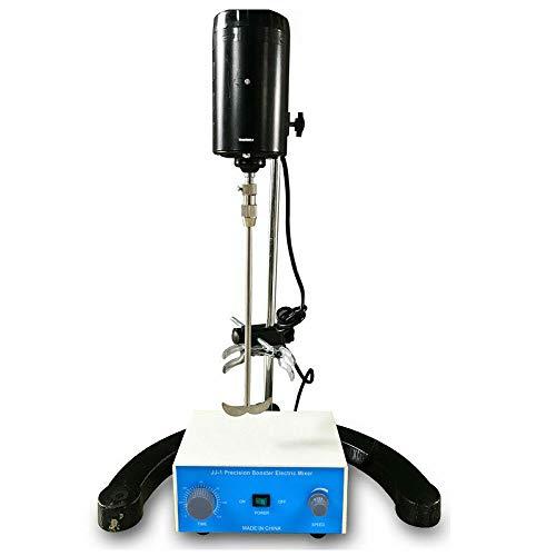 Agitador eléctrico de laboratorio, mezclador, mezclador, potencia de precisión, 100 W, 3,000 rpm