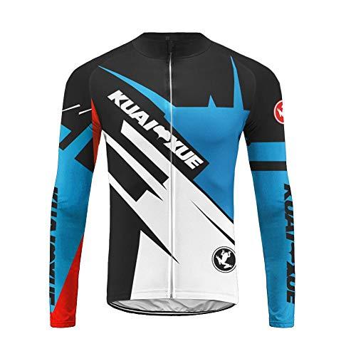 Uglyfrog HWCX02 2019-2020 Winter Jersey Thermisches Fahrradtrikot Vlies Thermo Langarm Shirt Herren Breathable MTB Fahrrad Lange Hülsen Fahrrad Hemd Männer Triathlon Fahrradbekleidung Radfahren