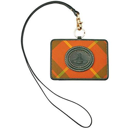 Vivienne Westwood ヴィヴィアンウエストウッド グリーン タータン IDホルダー パスケース カードケース S86 新品正規品
