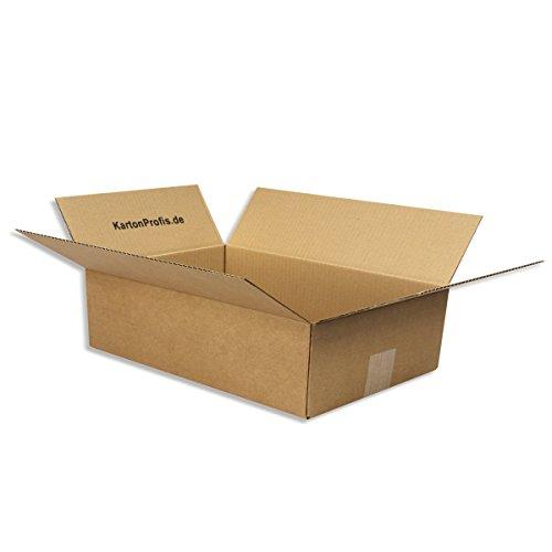 600 x 300 x 150mm / 60 x 30 x 15cm - 25 DHL Päckchen Karton Versandkartons Faltschachteln Faltkarton