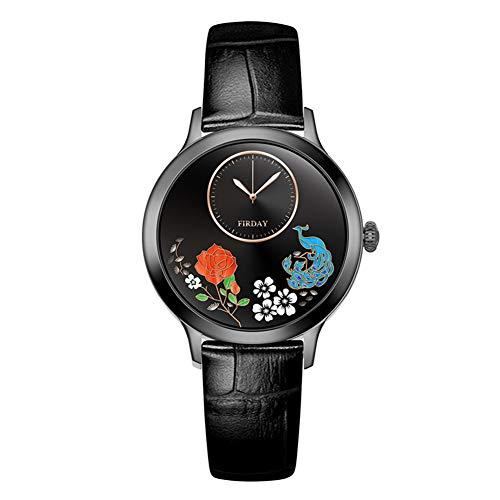 QNMM Presión Inteligente Reloj G10 Mujeres Ritmo Cardíaco Sangre Monitoreo SmartWatch IP67 a Prueba de Agua Rastreador de Ejercicios Señoras Reloj Inteligente para Android iOS