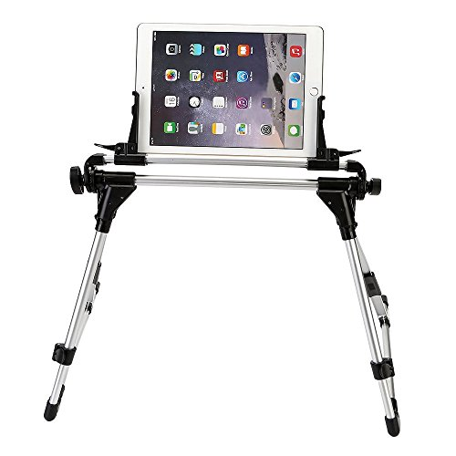 KING OF FLASH Universal Foldable Desk Floor Stand Bed Tablet Mobile Phone...