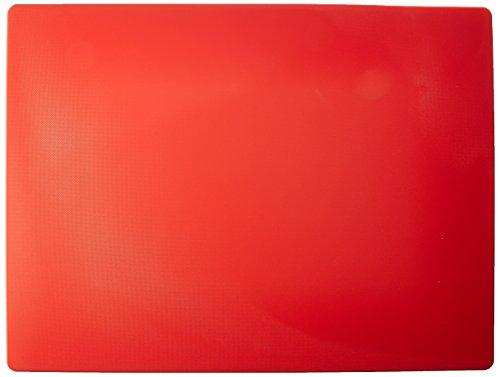Winco Cutting Board, Medium, Red
