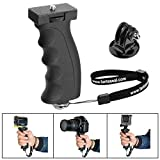Fantaseal Camera Hand Grip Mount Compatible for Nikon Canon Pentax Olympus DSLR Camera Camcorders   Video Lights   <span class='highlight'>GoPro</span> Sony Garmin Virb SJCAM etc <span class='highlight'>Action</span> Camera Handle Grip Stabilizer Handheld Holder