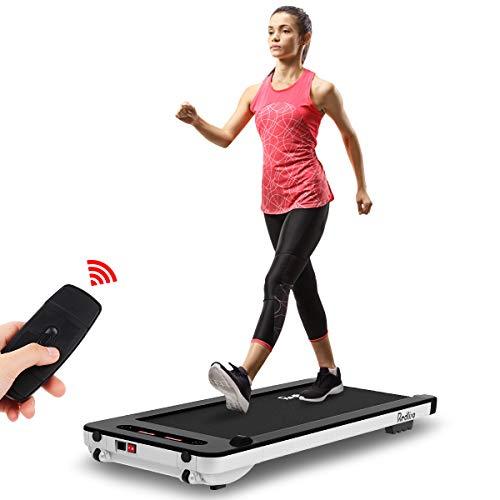 REDLIRO ultradünnes Laufband kann Unter dem Tisch verwendet Werden.Mit Fernbedienung und LCD-Display ist es perfekt für zu Haus und Büro.
