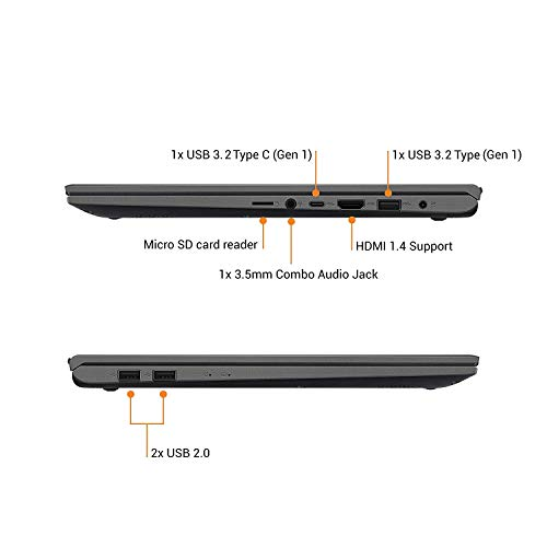 ASUS VivoBook15 X512DA-BQ1546T AMD Ryzen5-3500U(Quad Core)/15.6 FHD IPS/8GB RAM/512GB NVMe SSD/Win.10/Integrated AMD Radeon Vega 8 Graphics/FP Reader/Backlit KB/1.60 Kg/Slate Grey