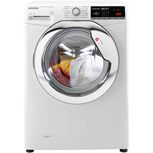 Hoover Dynamic Next Advance WDXOA4106HC 10Kg / 6Kg Washer Dryer with 1400 rpm - White / Chrome