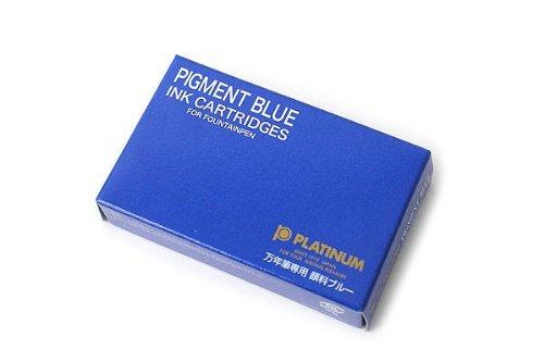 Platinum Pigment - Cartucho de tinta (10 unidades), color azul