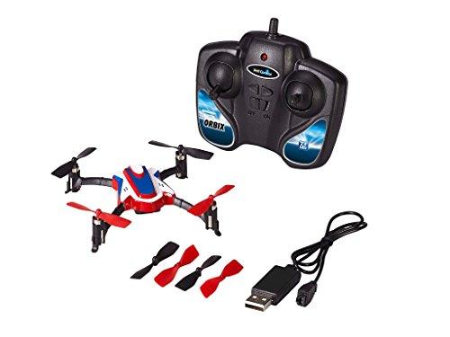 Revell Control RC Quadrocopter für Einsteiger, ferngesteuert mit 2,4 GHz Fernsteuerung, klein und gutmütig, LED, Flip-Funktion, Headless-Funktion, USB-Ladegerät, Ersatzrotorset, ORBIX 23928