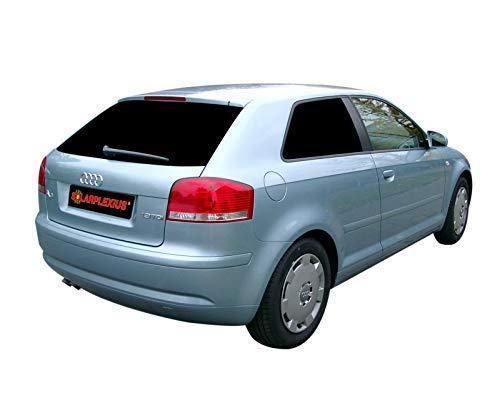 Solarplexius Auto-Sonnenschutz Scheiben-Tönung passgenau für Audi A3 8P Bj. 2003-12 3-Türer Komplettsatz Keine Folie