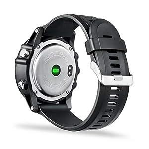 FFWJM Pulsera Inteligente Modo de Viaje Deportivo Monitor de frecuencia cardíaca Oxígeno IP68 a Prueba de Agua (Negro)