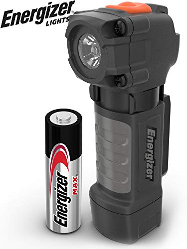 Energizer Magnetic LED Flashlight, IPX4 Water Resistant, Bright LED Light, Use For Work, Camping, Outdoor, Emergency, Everyday Flashlight, Batteries Included