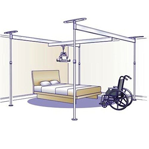 Hoyer Voyager Portable Overhead Patient Lift (with 4 Post)