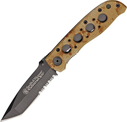 Smith & Wesson Taschenmesser: Extrem Ops DESSERT Camou Tanto Einsatzmesser