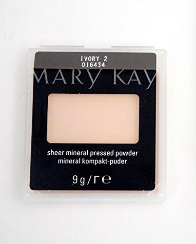 Ivory 2 Sheer Mineral Pressed Powder Mineral kompakt Puder 9g Mhd 2020/21