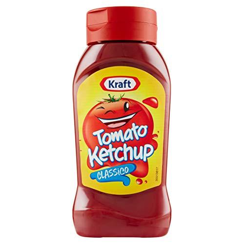 Kraft Tomato Ketchup Top Down 465gr (10 Confezioni)