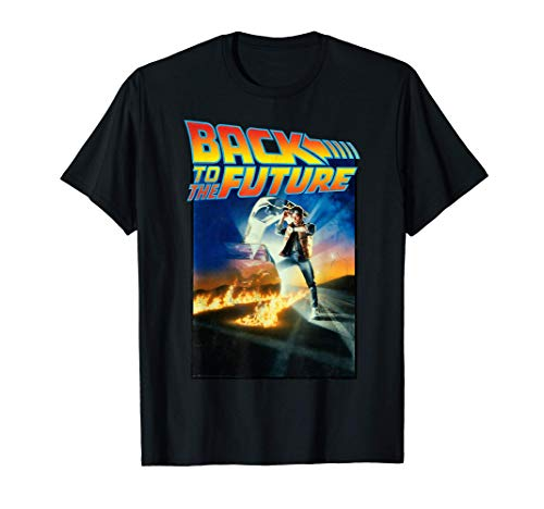 Back To the Future Movie Poster Classic T-Shirt for Men, Women, Kids up to 3XL