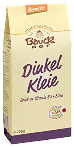 Bauckhof Dinkelkleie (200 g) - Bio