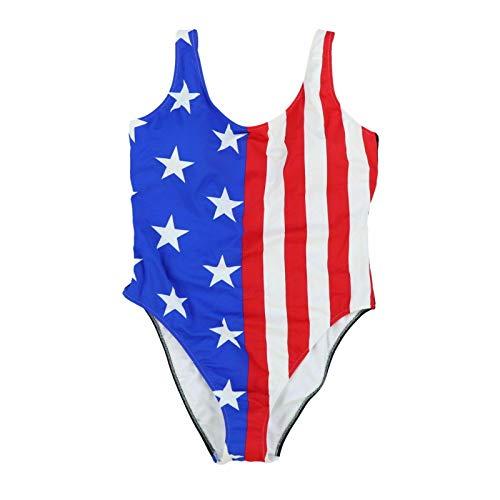Victoria's Secret Pink Swim One Piece Bathing Suit (S, American Flag)