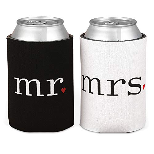 Mr. & Mrs. Can Coolers