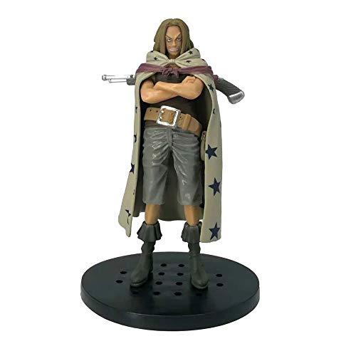 WISHVYQ Ein Prost Anime Modell Jesus Tuch Yasoppu der Mann der Großen Route Hochwertige Version Skulptur Dekoration Statue Puppe Modell Spielzeughöhe 17 cm