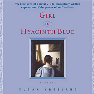 Girl in Hyacinth Blue audiobook cover art