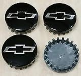FEEL Dgimis Set of 4 Wheel Center Caps Bright Silver 83mm/3.25' Wheel Center Hub Cap for 18' 20' 22'...