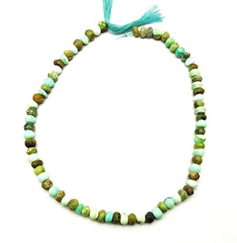 Shree_Narayani Perú de calidad fina Perú Perú Perú cuentas sueltas Micro facetadas Rondelle 6mm 13' para hacer joyas DIY artesanías encantos collar pulsera pendiente 1 hebra