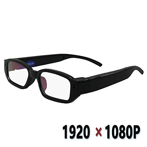 ハツキ 1080Pメガネ型カメラ HD高画質 スパイカメラ 小型ビデオカメラ 録画・撮影/商務会議/活動撮影対応
