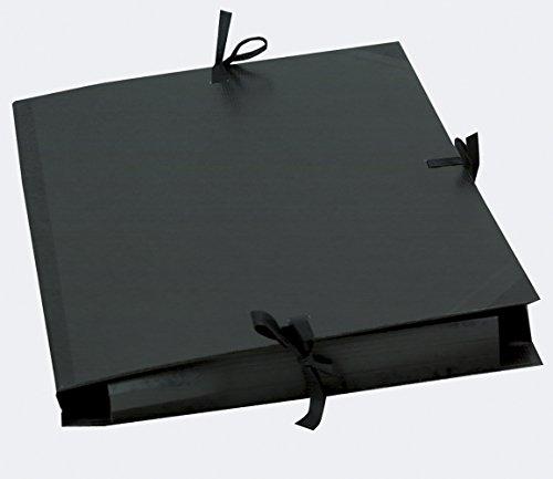 Clairfontaine Zeichenmappe 52 x 72 cm grau 44620C mit Gummizug