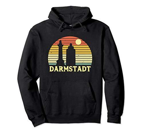 Darmstadt Souvenir Geschenk für Darmstädter & Darmstädterin Pullover Hoodie