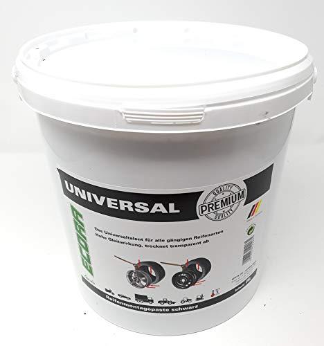 DWT-Germany Pasta para montaje de neumáticos 101430, 10 kg, Premium Montagewax, pasta de montaje de neumáticos, color negro