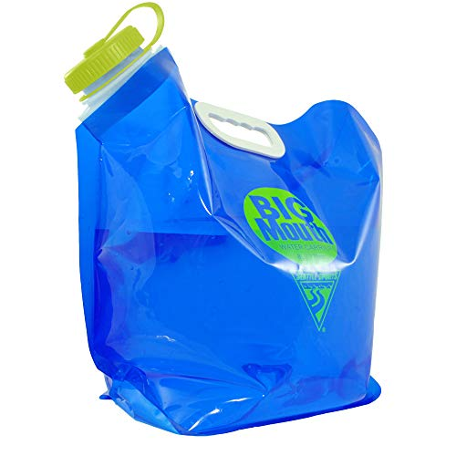 Seattle Sports AquaSto 8L Big Mouth - PVC and BPA-Free Foldable Collapsible Water Jug